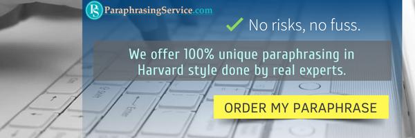 harvard paraphrasing service online