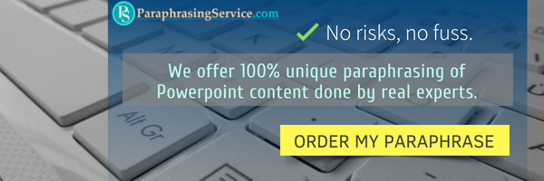 best services for paraphrasing powerpoint presentations