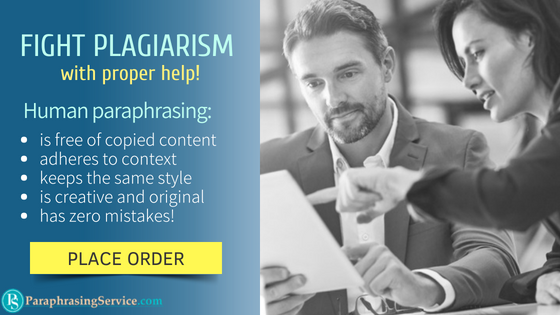 learning to paraphrase without plagiarism