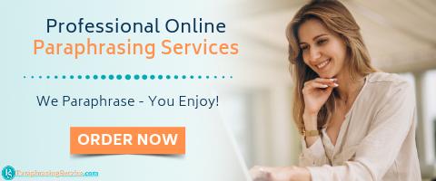 online paraphrasing services